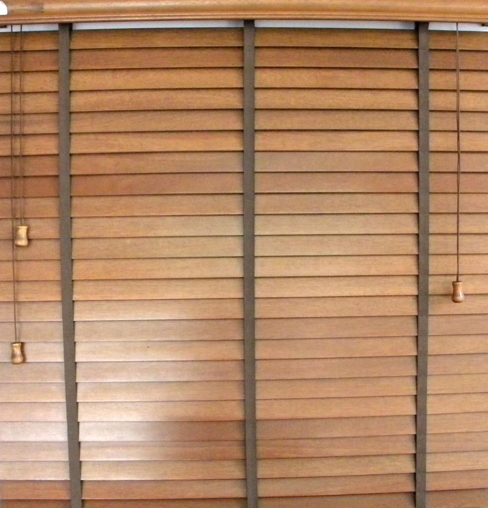 Cortinas y persianas acabados 138 for Persianas madera